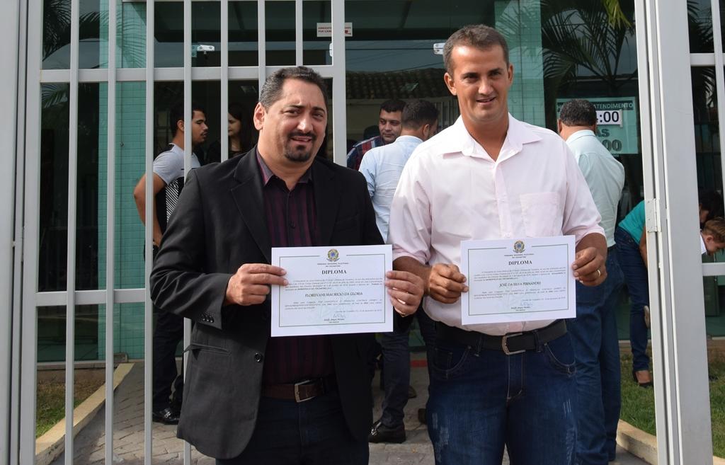 Justiça Eleitoral diploma prefeito, vice-prefeito, vereadores e suplentes de Divinópolis TO