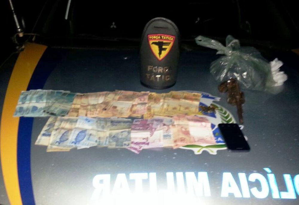 Em Araguaína, PM localiza dois indivíduos suspeitos de roubarem Agência dos Correios em Filadélfia