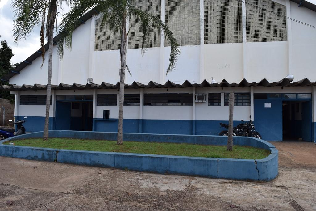 Vereadores conferem situação do Ginásio de Esportes de Paraíso do Tocantins