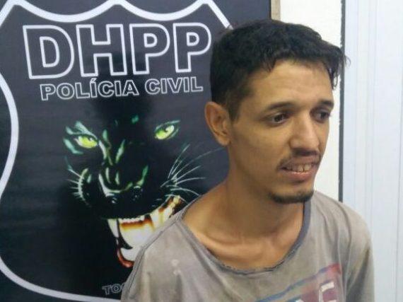 Foragido da Justiça do Distrito Federal é preso pela Polícia Civil em Palmas