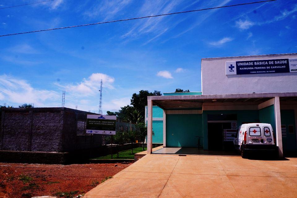 UBS Raimunda Pereira Carvalho é ampliada através de emenda do deputado federal Carlos Gaguim