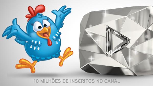 Galinha Pintadinha atinge 10 milhões de inscritos em seu canal brasileiro