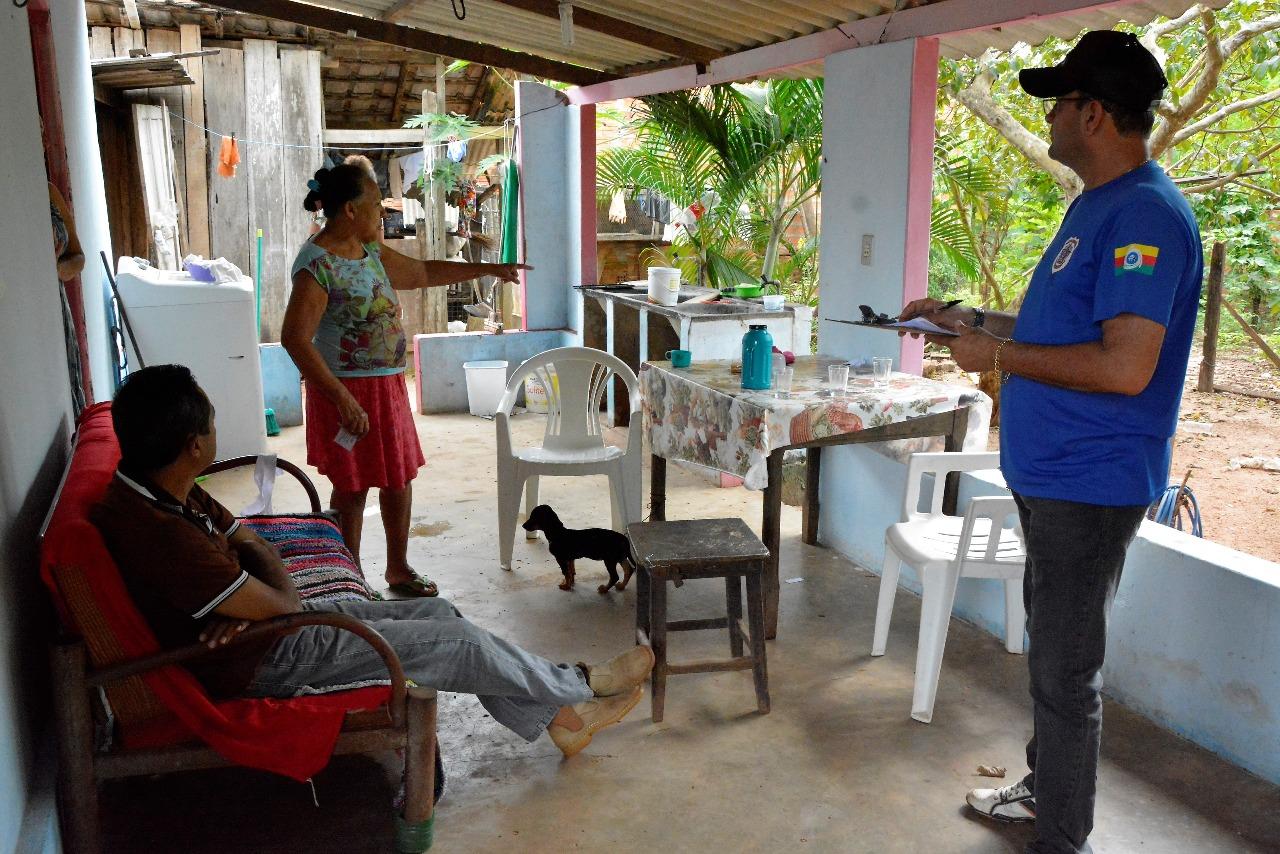 Vigilância Sanitária orienta donos de galinheiros em ação de combate ao calazar