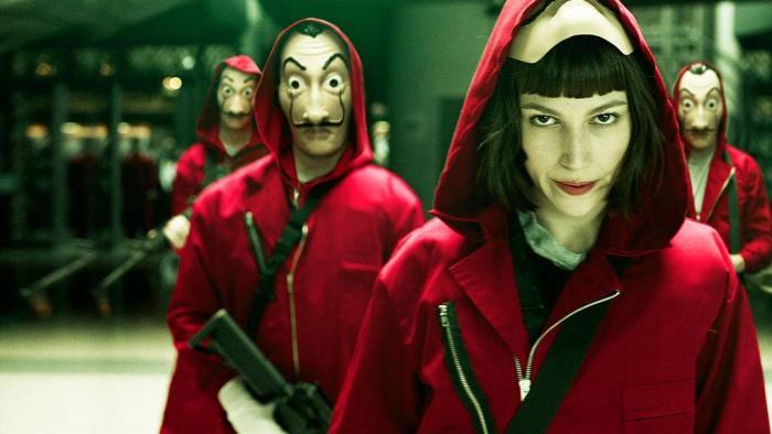 Netflix confirma 3ª parte da série La Casa de Papel