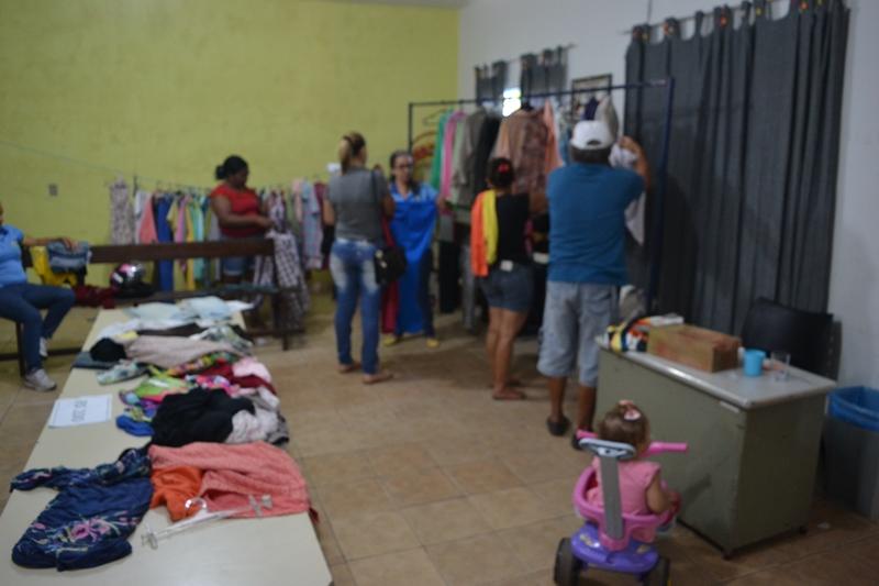 APAE Paraíso está realizando bazar beneficente nesta quarta, 09