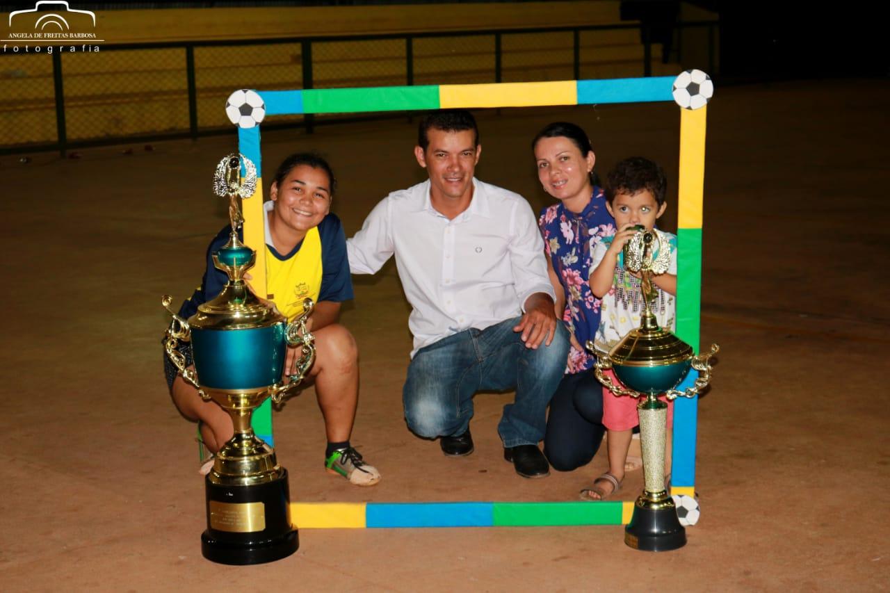 Prefeitura de Marianópolis (TO) realiza final do Campeonato Feminino de Futsal