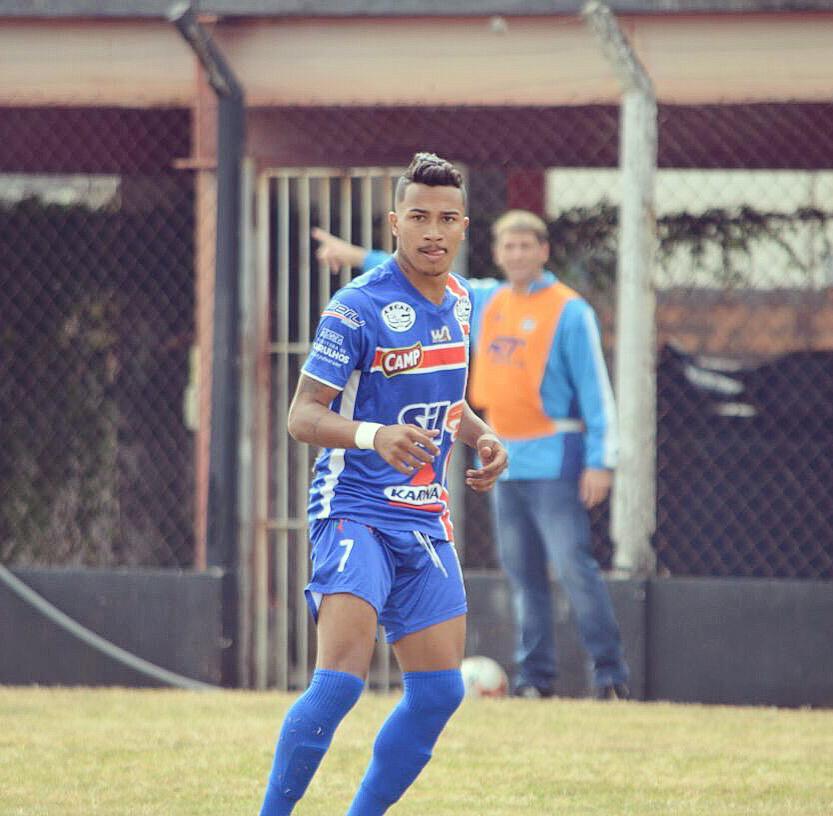 Jogador Bruno Humberto é confirmado pelo Palmas para a temporada 2019