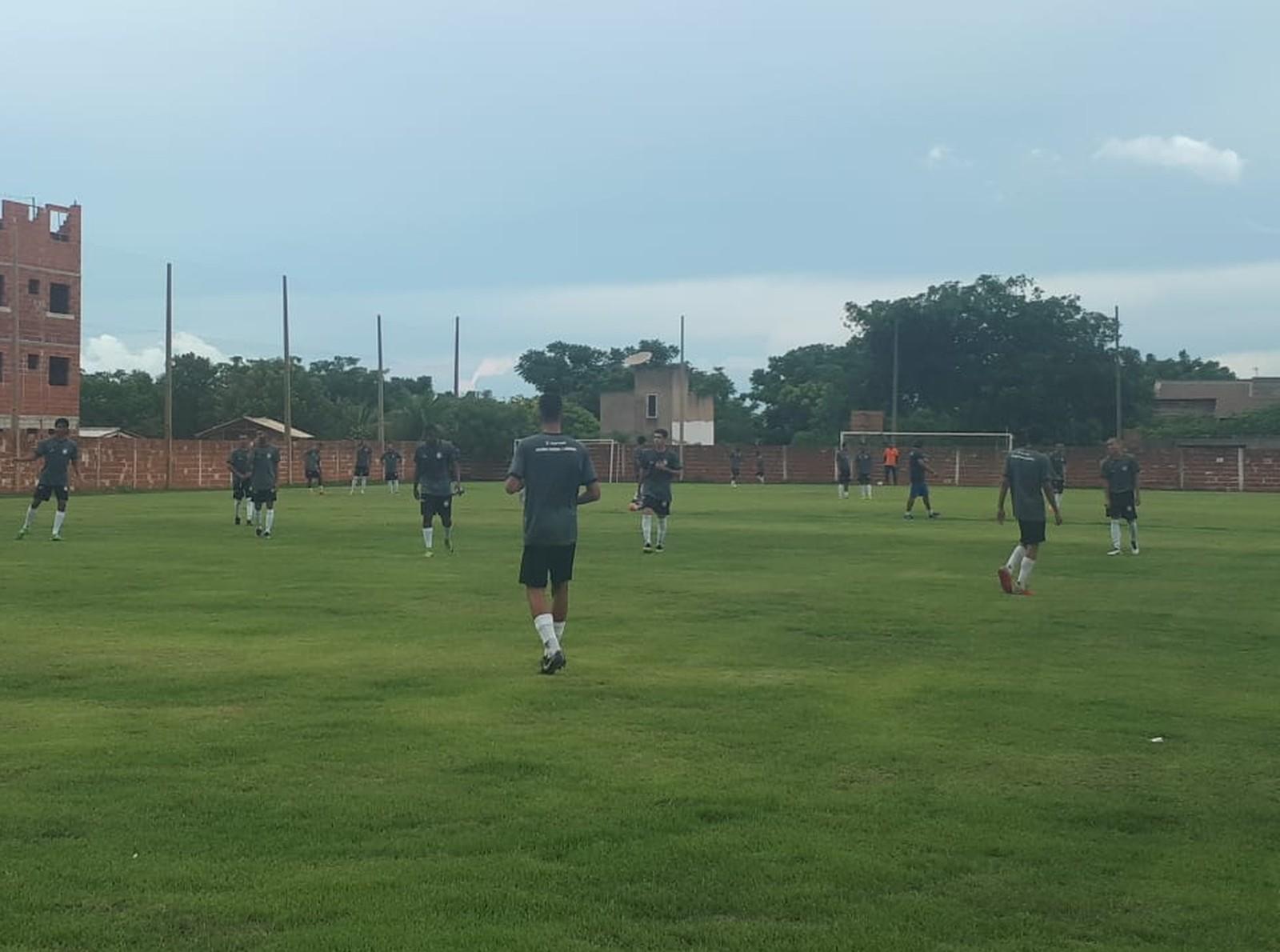 Bruno Humberto se destaca em jogo-treino e Palmas vence equipe sub-19 de goleada
