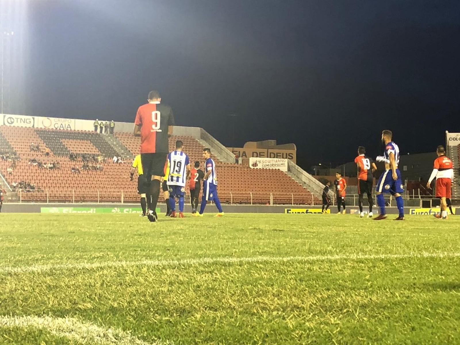 Sinop-MT vence o Capital-TO na despedida da Copa São Paulo 2019