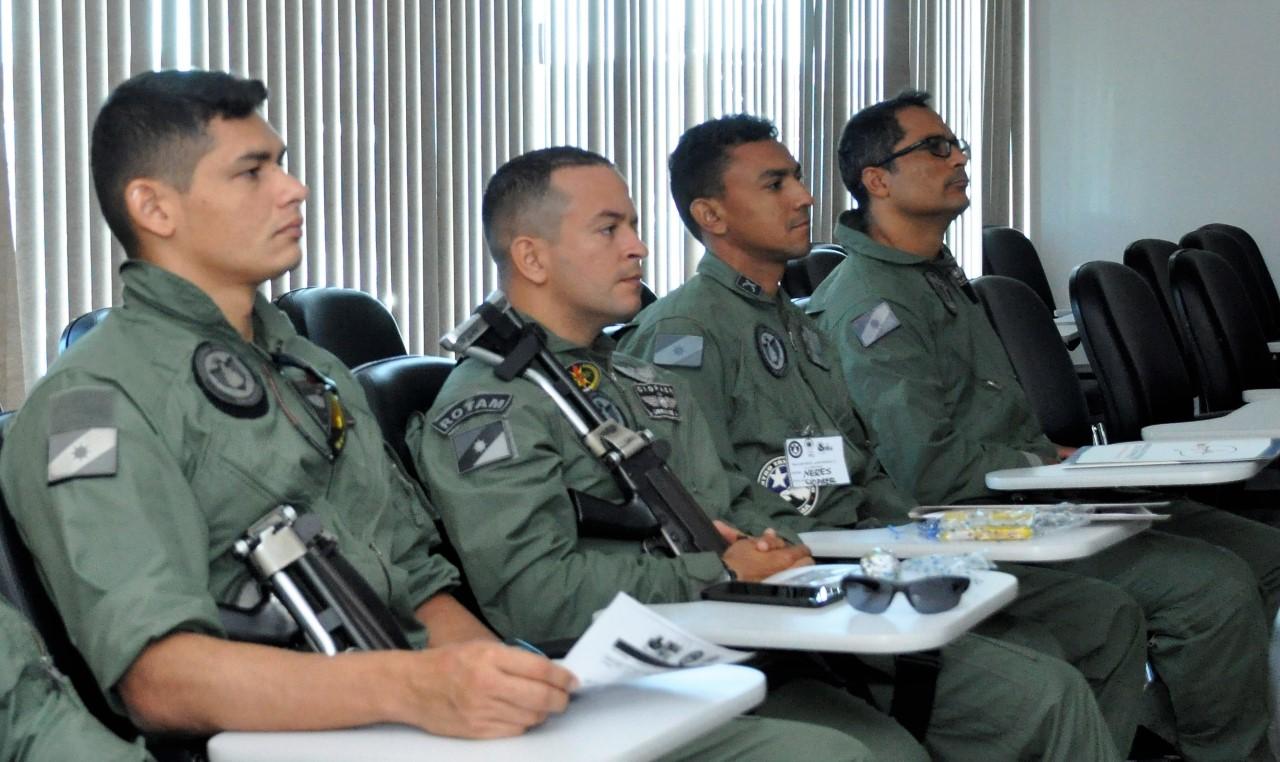 Equipe do Ciopaer participa de capacitação da Marinha do Brasil no Rio de Janeiro