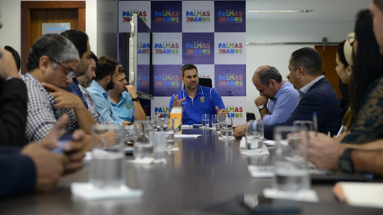 Prefeitura e COB fazem primeira reunião técnica sobre os Jogos Escolares da Juventude que acontece em Palmas em setembro