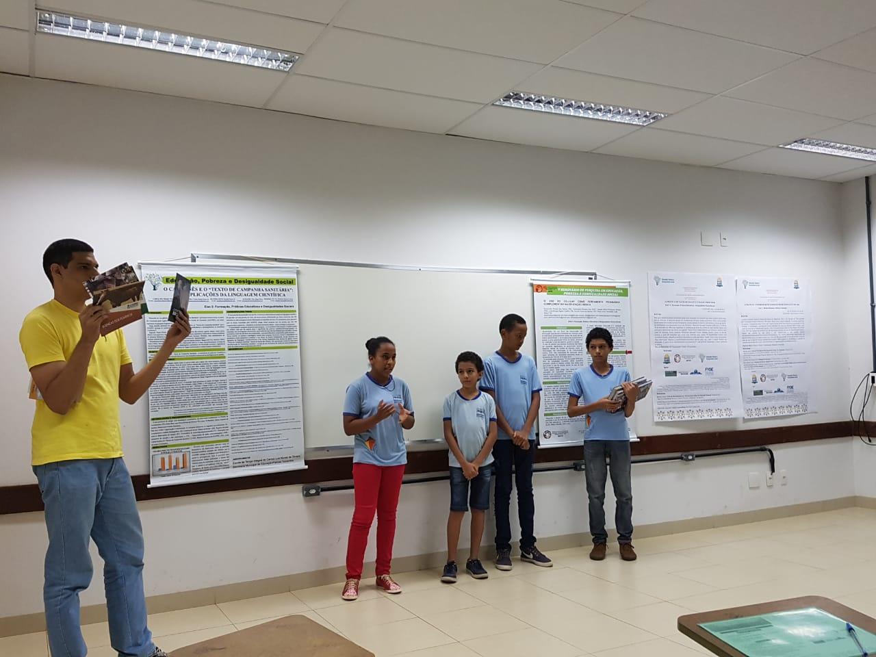 Projeto da ETI Luiz Nunes é classificado para feira de iniciação científica em Santa Catarina