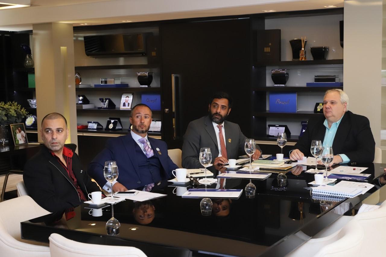 Representantes de fundo de investimentos dos Emirados Árabes e FIETO discutem oportunidades de negócios no Tocantins