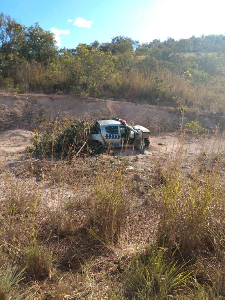 Policial Militar sofre acidente em viatura na TO-425 e vem a óbito no hospital