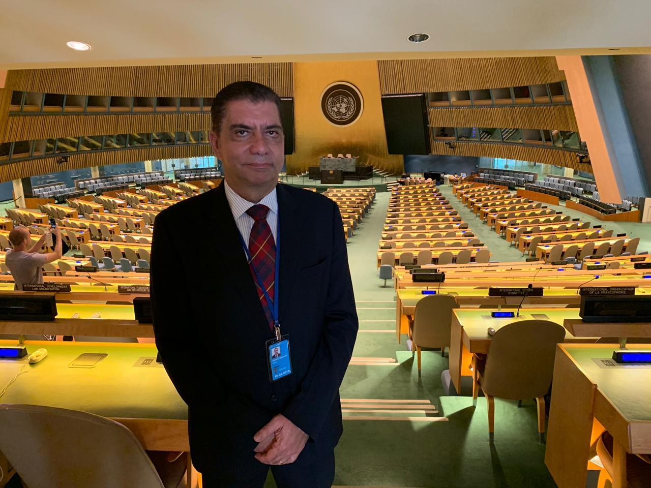 Amastha participa de fórum político sobre desenvolvimento sustentável na sede da ONU, em NY