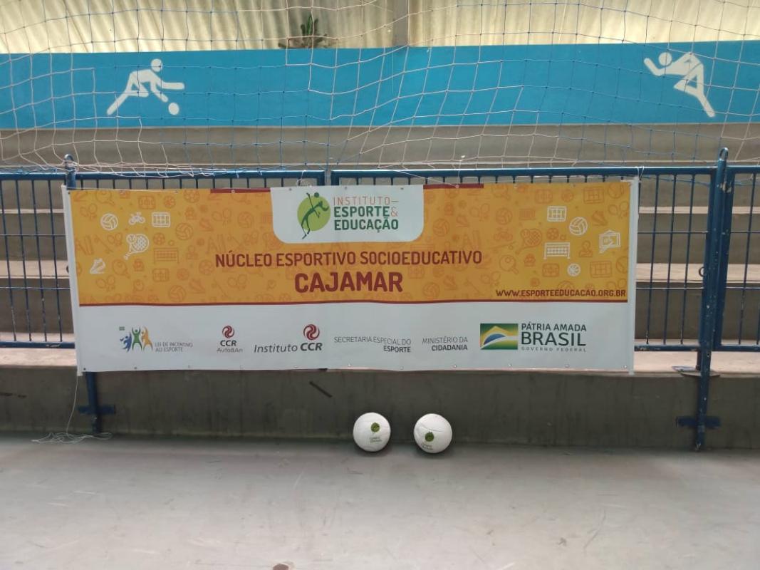 IEE e Instituto CCR inauguram núcleo esportivo no município de Cajamar (SP)