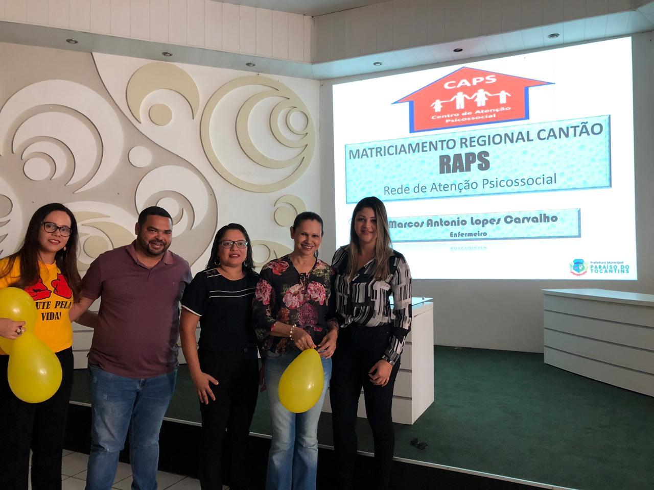 SEMUS e CAPS promovem evento em alusão ao Setembro Amarelo
