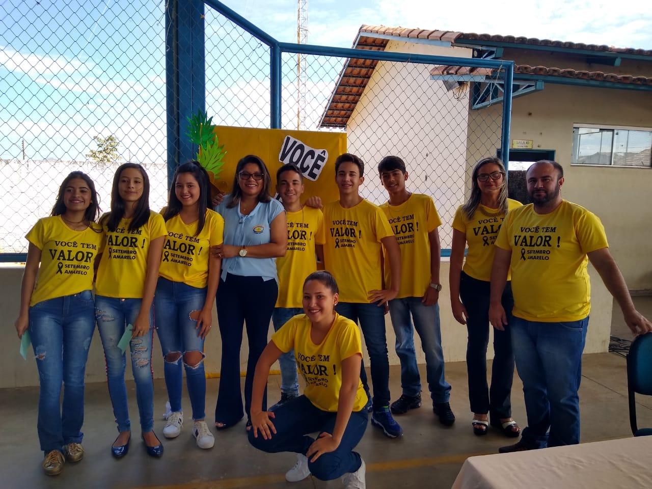 Setembro Amarelo: Cooperativa realiza oficinas de conscientização em escolas de Formoso do Araguaia