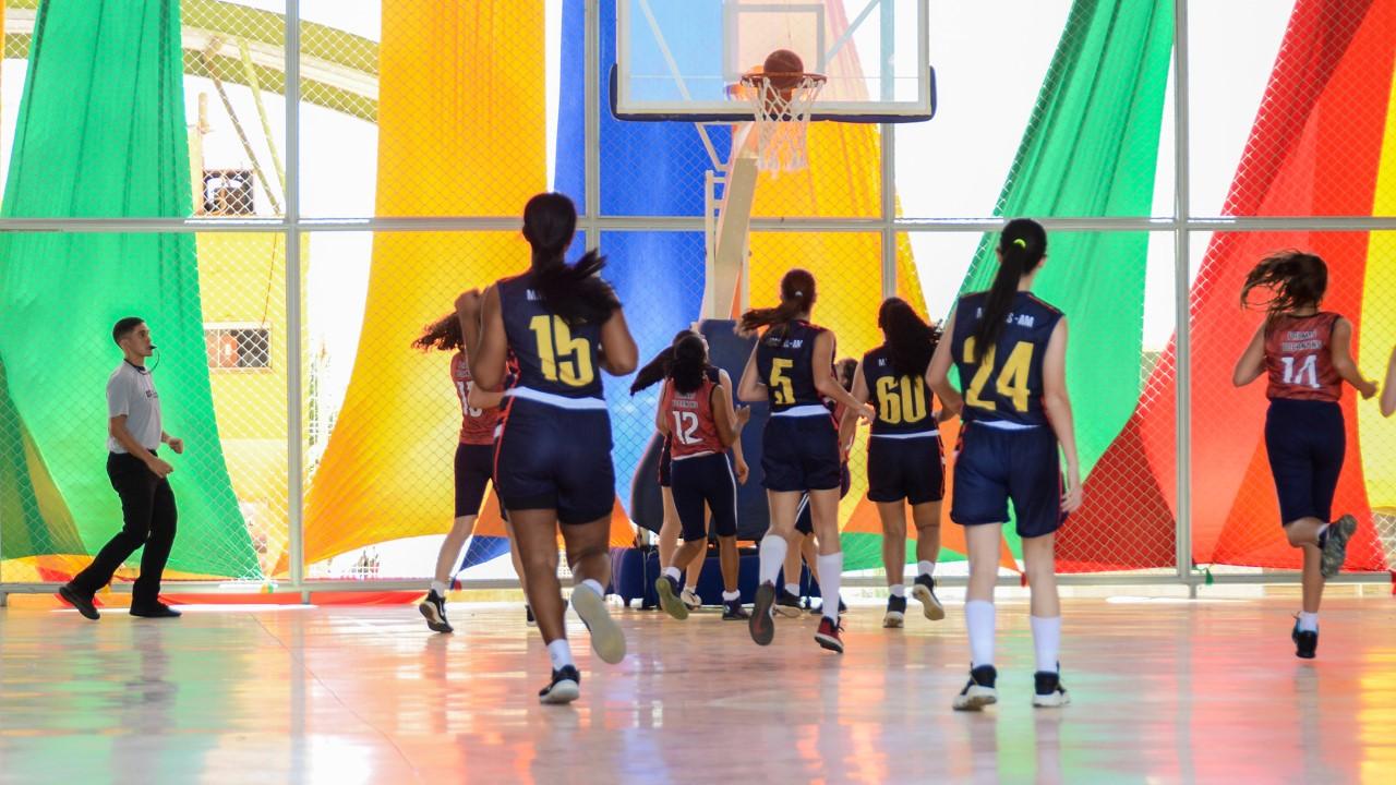 Basquete feminino tocantinense perde segundo jogo e depende de uma vitória para seguir na disputa por medalha