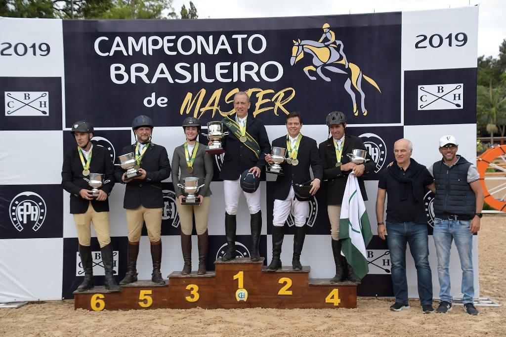 Pódios estrelados no Campeonato Brasileiro de Masters em São Paulo