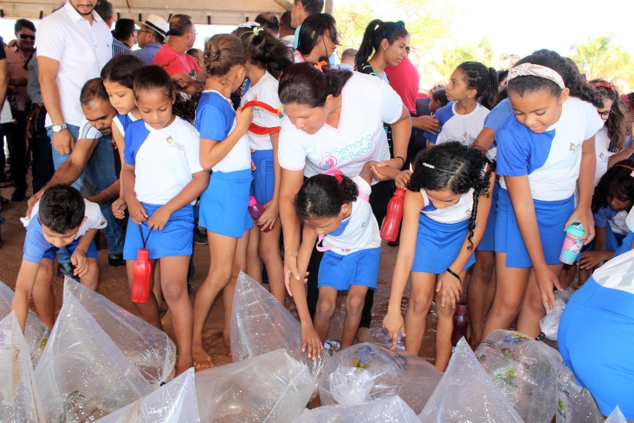 Mais de 10 mil peixes serão soltos no Lago Azul em mais uma ação do Projeto Lago Vivo