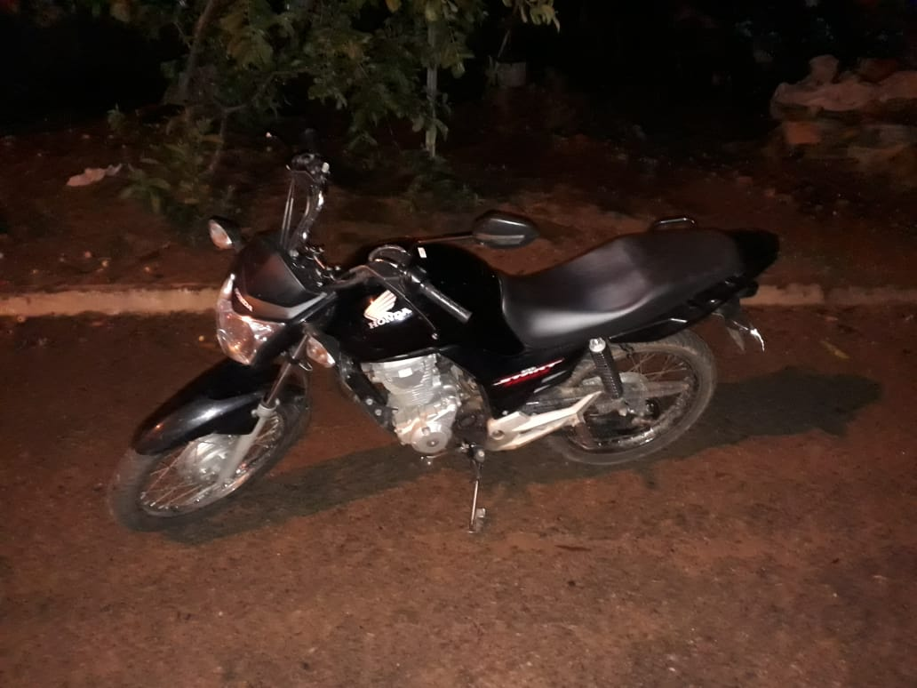 8° BPM recupera uma moto roubada em Monte Santo TO