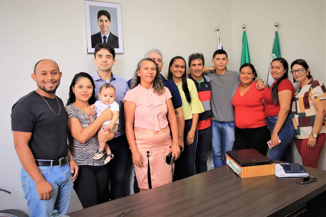Conselheiros Tutelares eleitos de Lajeado são recebidos pelo Prefeito Dr. Tércio
