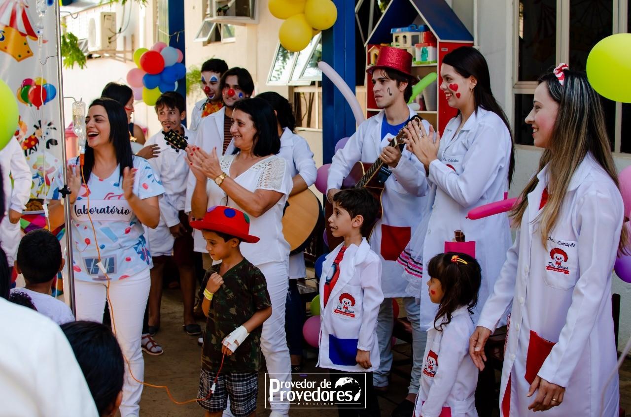 Hospital Regional de Paraíso promove uma semana de alegria a crianças internadas