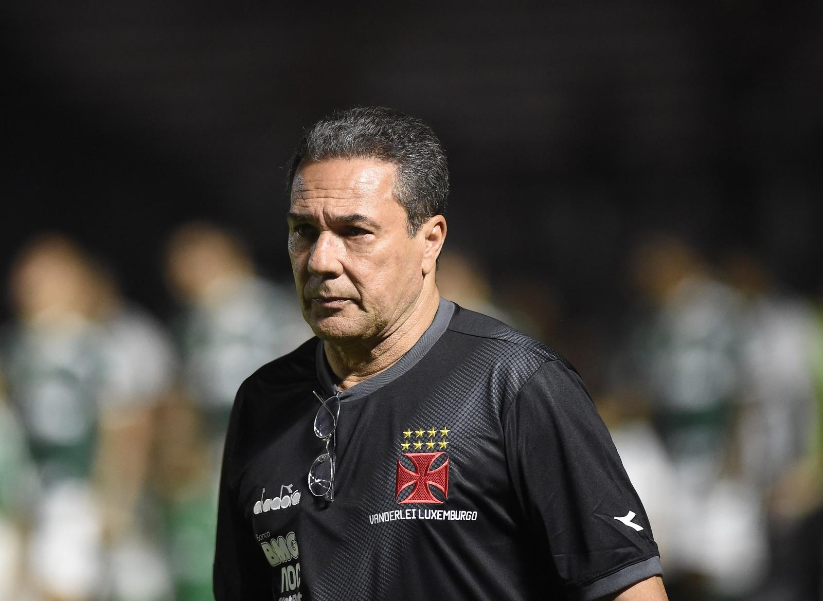 Vanderlei Luxemburgo, técnico do Vasco, tem câncer de pele diagnosticado