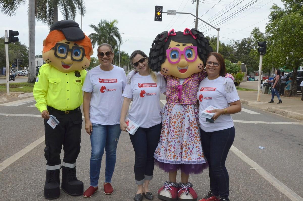 Hemocentro de Palmas realiza blitz para conscientizar população sobre a importância da doação