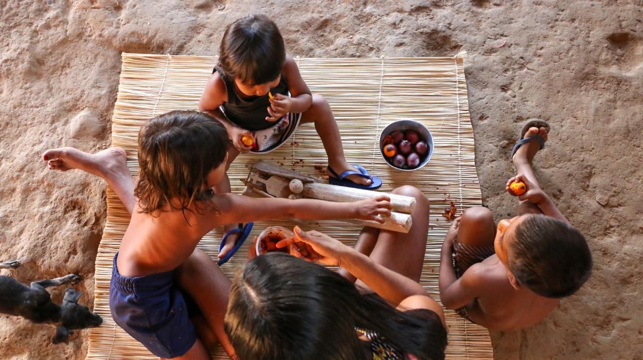 Governo atende mais de 30 aldeias indígenas no Tocantins com o Criança Feliz