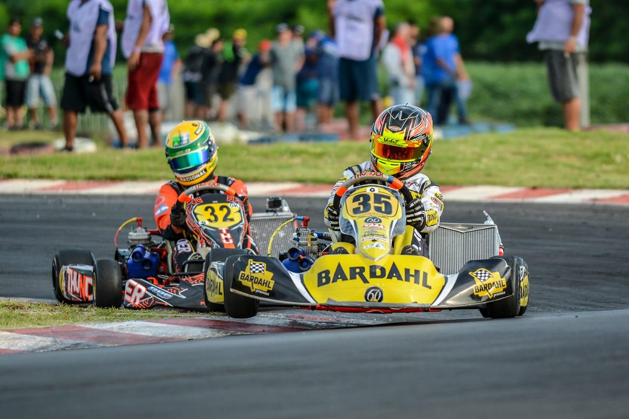 Pedro Aizza garante o pódio no Troféu Ayrton Senna de Kart