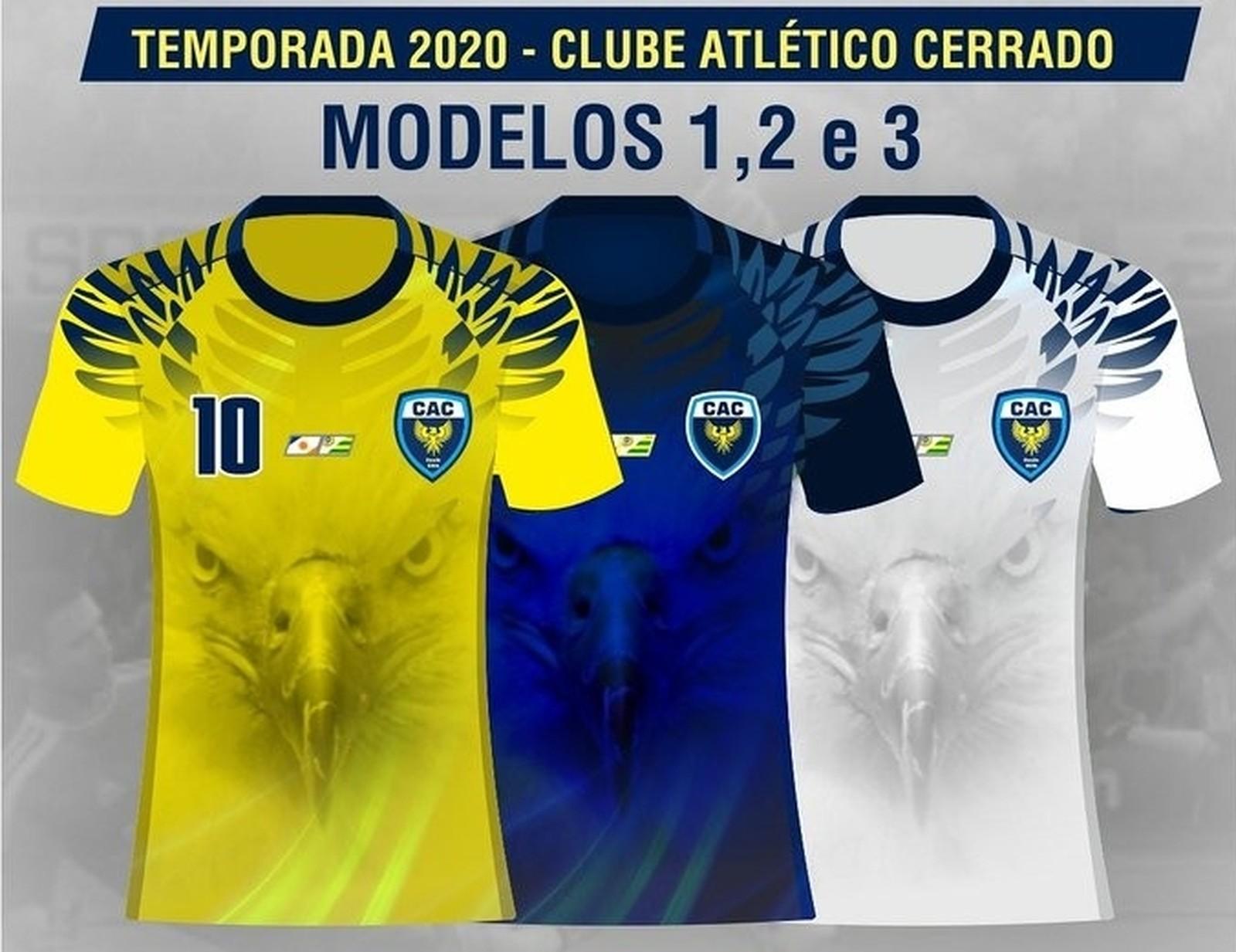 Atlético Cerrado divulga os uniformes para temporada 2020