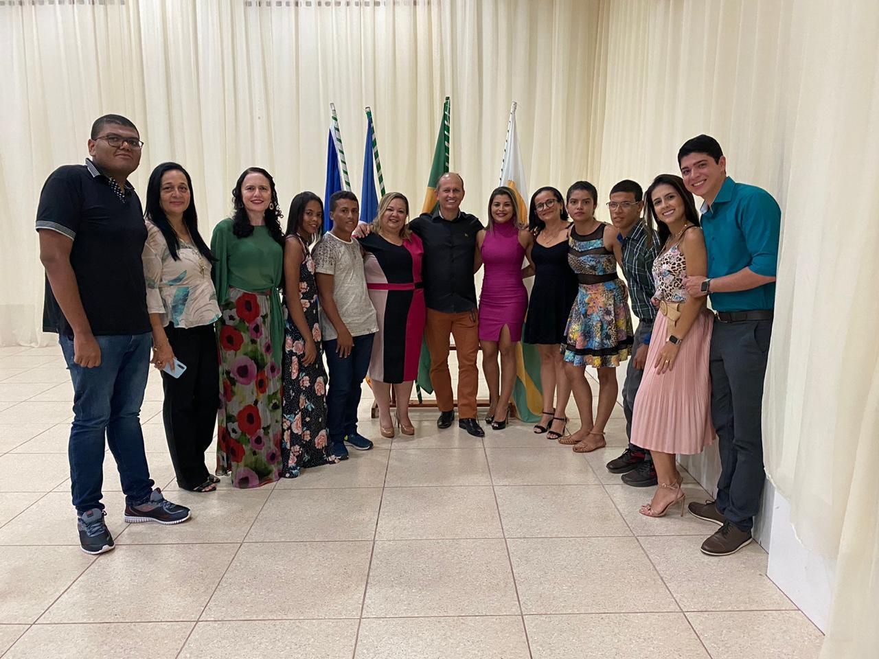 Celso Morais participa da posse da nova diretoria da Apae em Paraíso