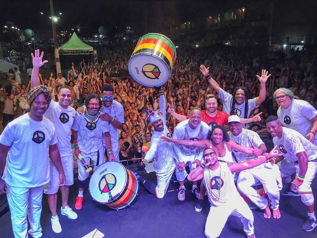 """""""Música na Band"""" apresenta show do grupo Olodum"""