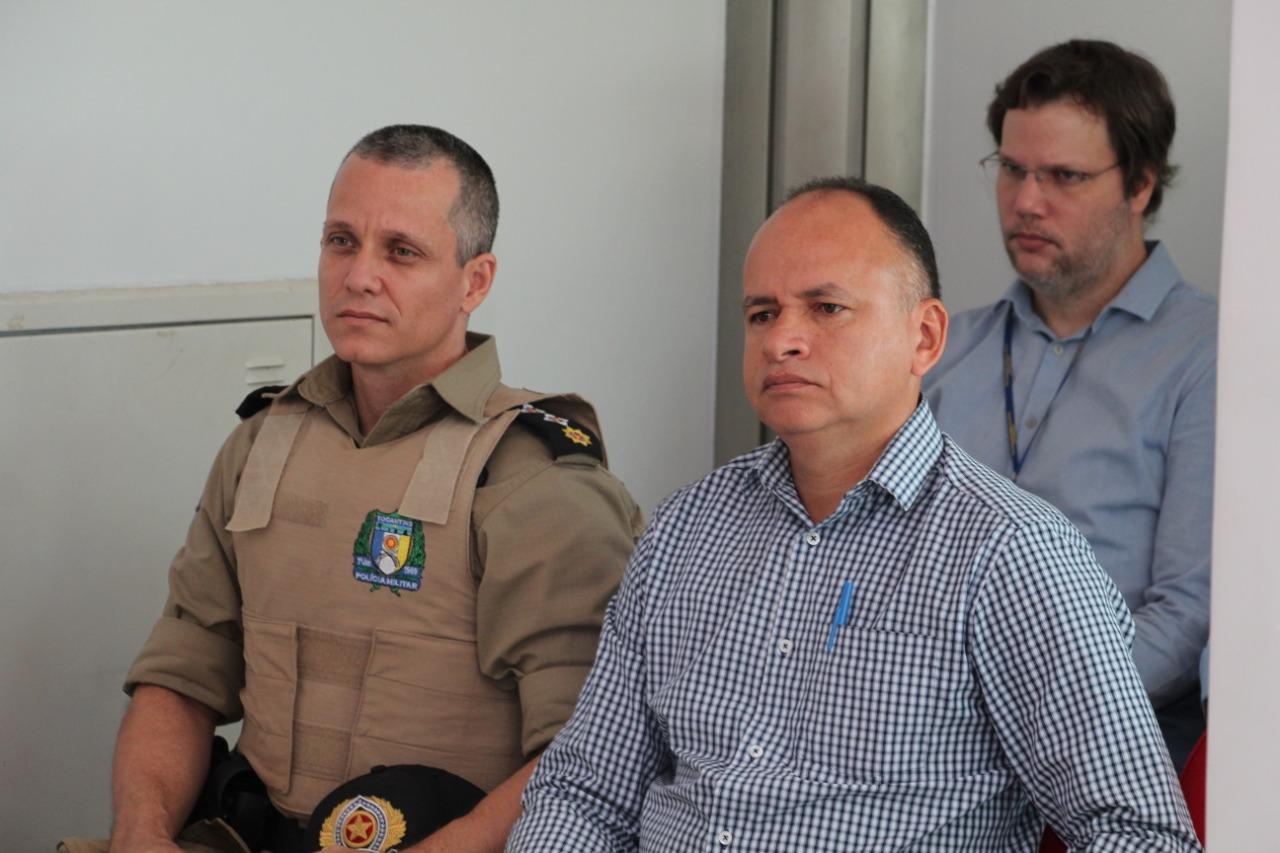 8º BPM participa de reunião de Inspeção na Promotoria de Justiça de Paraíso do Tocantins