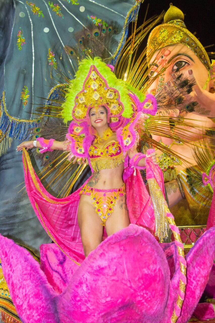 """Musa da Pérola Negra fala sobre a estreia no carnaval paulistano: """"experiência incrível"""""""