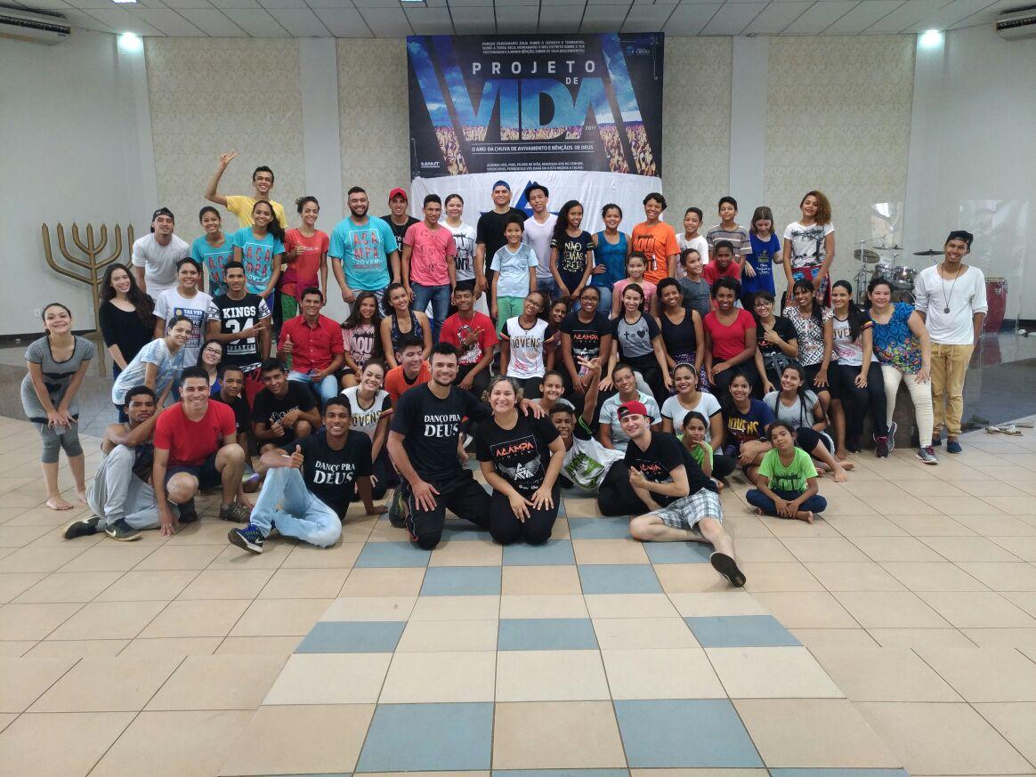 Jovens se reúnem nesta quarta, 19, para realizar Flash Mob de divulgação do 'Palmas Capital da Fé