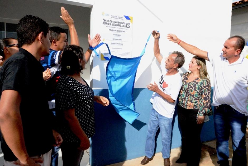 Lagoa da Confusão comemora 29 anos e ganha Centro de Convivência dos Idosos e nova ambulância