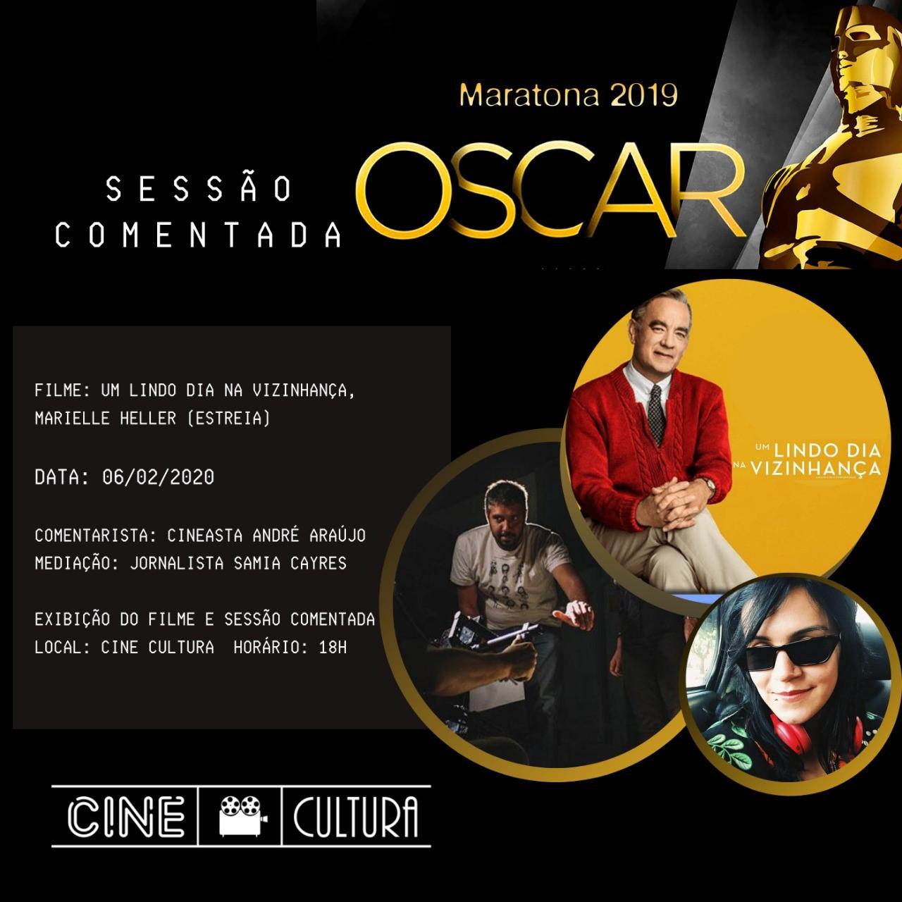 Com diversas atividades, Cine Cultura apresenta programação especial para a semana do Oscar
