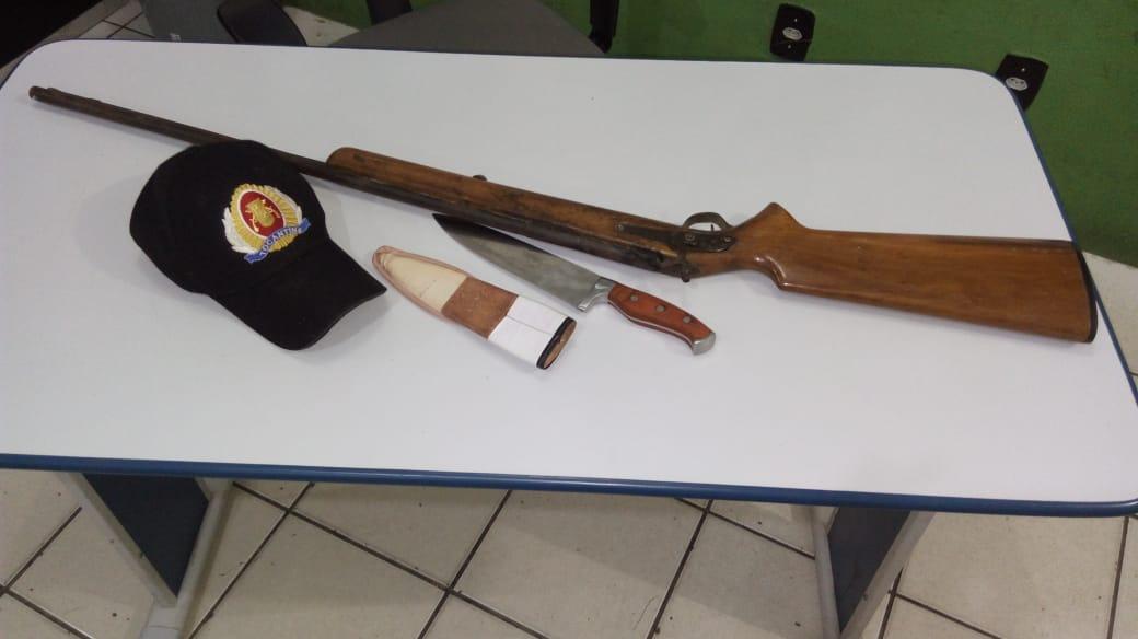 Polícia Militar detém homem por porte ilegal de arma de fogo em Xambioá