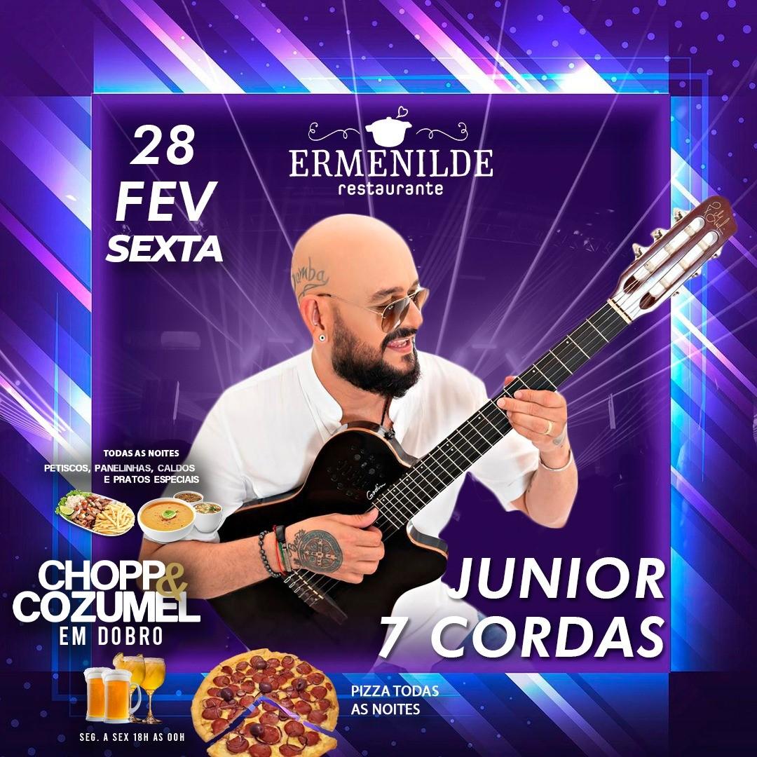Programação do Restaurante Ermenilde traz samba, forró e música popular brasileira para o último fim de semana de fevereiro na Capital