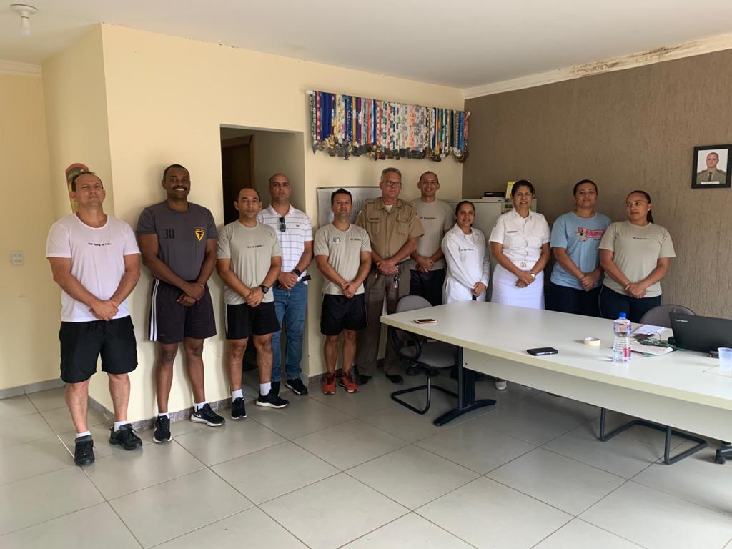 4ª CIPM em Lagoa da Confusão realiza 1ª etapa do Teste de Avaliação Física de seus militares