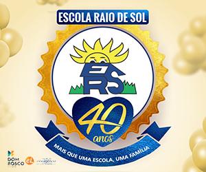 Escola Raio de Sol – 40 Anos – 300×250