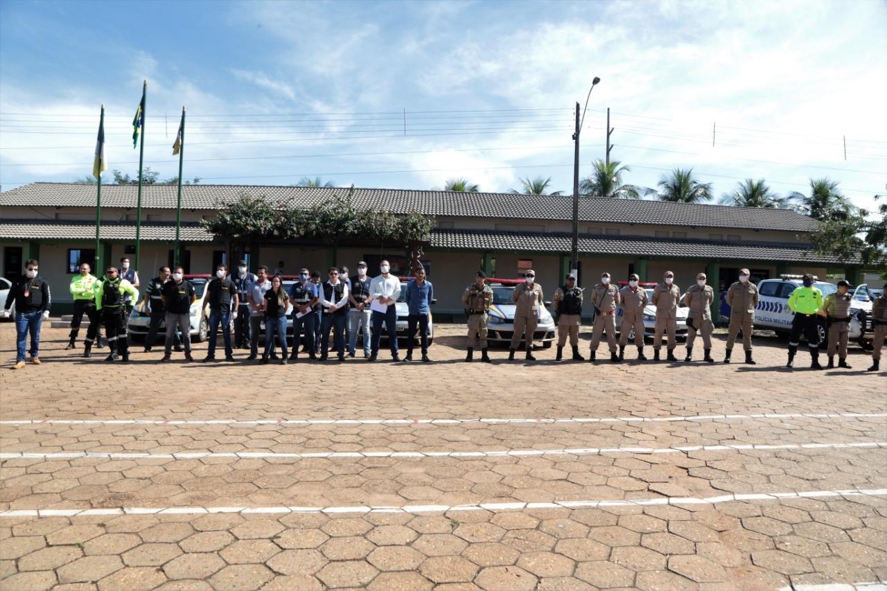 """Forças de Segurança deflagram operação """"Coronavírus"""" em Araguaína"""