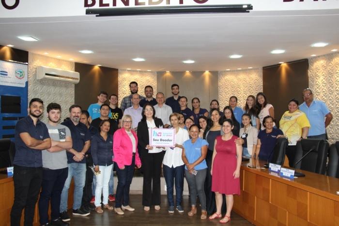Hospital de Amor busca apoio da Câmara de Paraíso para o 3º Leilão Direito de Viver
