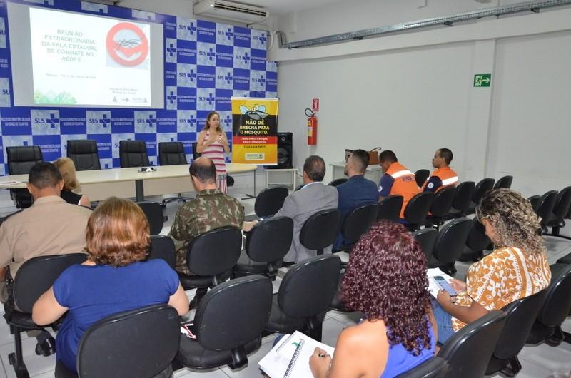 Sala Estadual de Combate ao Aedes Aegypti promove reunião com parceiros para fomentar ações