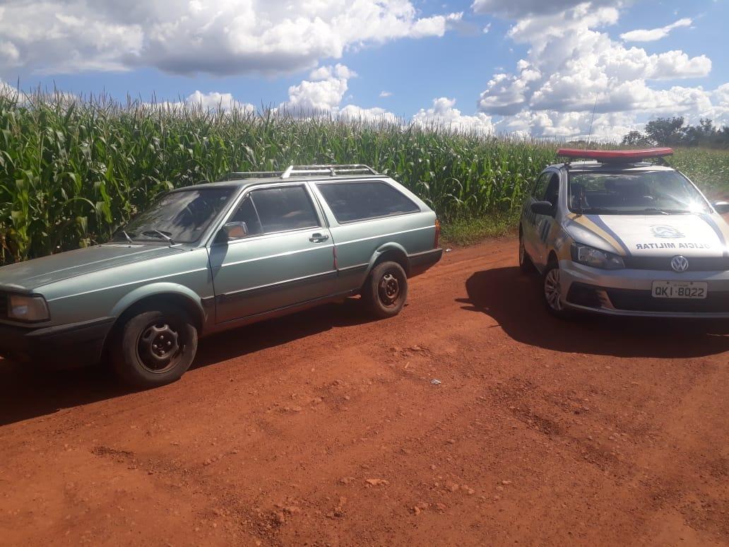 4ª CIPM recupera em Nova Rosalândia, veículo furtado há dias em Porto Nacional