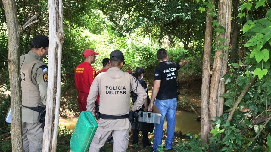 Suspeito de assassinar homem em Palmas e jogar corpo em córrego é preso e confessa motivo do crime