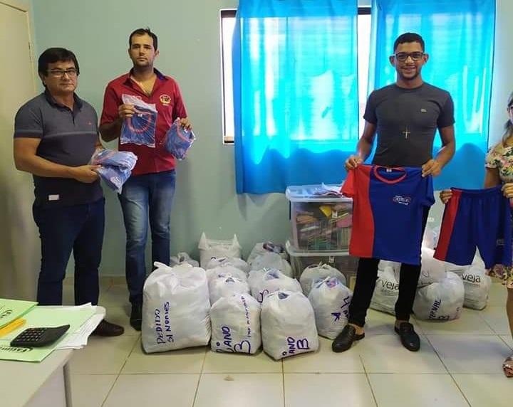 Prefeitura de Fátima adquire novos uniformes para alunos da rede municipal de ensino